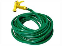 Wholesale UV Resistant High Quality Colorful Green Garden Irrigation Use No Smell PVC Garden Water Hose Pipe F