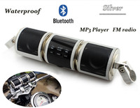 Wholesale New Motorcycle Bluetooth Audio Sound System MP3 FM Radio Stereo Speakers Waterproof