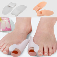 Wholesale With Retail box Medical silica gel Bunion Big Toe Spreader Eases Foot Pain Foot Hallux Valgus Guard Cushion toes outer thigh bone correction