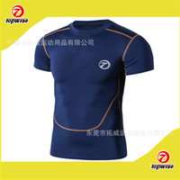 Wholesale sports fitness running speed with short sleeves dry sweat with short sleeves