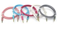 apple digital audio - Weave Rope Braided Aux Cable Auxiliary Cable mm Male to Male Audio Cable M ft Stereo Car Extension Cable for Digital Device