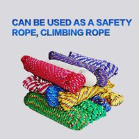 Wholesale Durable Climbing Ropes Outdoor Survival High Strength Professional Mountaineering Rock Camping Climbing Safety Rope Multi color