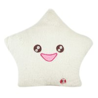 amico led - Amico Smile Star Design Color Changing LED Light Toss Thrown Pillow White Available for Shipment Exclusively within the U S