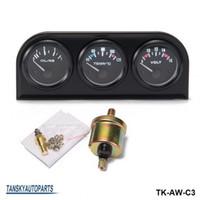 Precio de Pressure sensor-TANSKY - 52MM 3 in1 Medidor de precisión del automóvil Medidor automático de temperatura del agua Presión de aceite Presión de aceite o medidor de voltaje con sensor TK-AW-C3