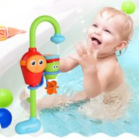 Wholesale Baby Children Non Toxic Bath Toys with Gift Box Package Spray Bathingroom Shower Accessories