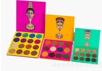 Wholesale Nubian yellow green red eyeshadow Juvia S Place Nubian Palette Eyeshadow Shades Beautiful High Pigment Matte The Nubian