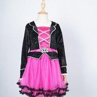 Wholesale Little Pirate Tutu Dress Costume Girls Dresses Pageant Lace Formal Dress