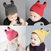 Wholesale Christmas Gift Fashion Cute Infant Baby hats Autumn Winter Warm Caps Knitted Hats boys girls cap