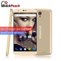 Wholesale VKworld T6 Mobile Phone G LTE inch HD x720 IPS MTK6735 Quad Core Android GB RAM GB ROM MP OTG Dual SIM