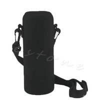 Wholesale Hot ML Neoprene Water Bottle Carrier Insulated Cover Bag Holder Strap Travel Drinker Bag Drop shipping