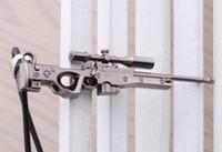 Super-sniper Avis-2016 Nouveau jeu Super dominateur AMW Gun Necklace cf Sniper rifle AWM Pendentif Collier