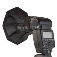 Wholesale Flash Diffuser cm Square Octagonal Mini Softbox for Canon for Nikon Speedlite Soft Box Photo Studio Accessories