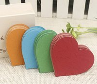 Wholesale Rui qi creative form South Korea love mini children wishing wishing to learn the small card messages