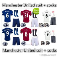 Wholesale Customized Thailand Quality Soccer Childrens adultJersey Rugby Wear Training clothes Ball socks