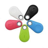 Wholesale 10pcs Newest Mini Wireless Smart GPS Locator Anti lost Sensor Alarm Bluetooth Tracker Finder itag for Kids Pets Bag Wallet Key