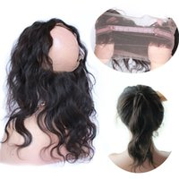 Wholesale Glamorous Human Hair Lace Frontal Closures Body Wave Hair Bodywave frontal X18 quot X20 quot