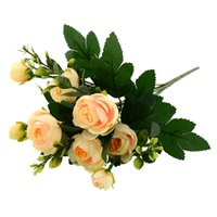 artificial branch - New Multi Color Realistic Branches Spring Artificial Fake Peony Flower Arrangement Home Table Room Decor