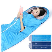 Wholesale Sleeping bag outdoor adult winter thick warm winter break extra light camping double indoor four seasons cotton bag