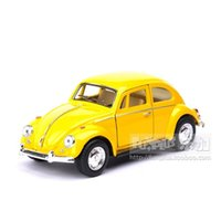 1967 volkswagen beetle achat en gros de-Oys Hobbies Dieces Toy Vehicles High Simulation Exquisite DivisionsToy Véhicules KiNSMART Styling de voiture Volkswagen Beetle 1967 Retro C ...