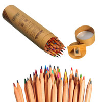 Wholesale ASTL Professional Marco Raffine Fine Art colored pencils Colors Drawing Sketches Mitsubishi Colour Pencil School Supplies