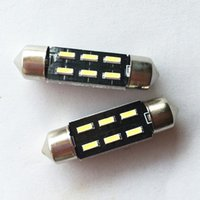 Wholesale 100pcs mm MM mm led SMD Festoon Dome Car Light Interior Lamp Bulb Dome Ceiling Panel Light
