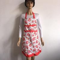 Wholesale Factory direct color aprons Korean version of the princess apron anti oil water apron