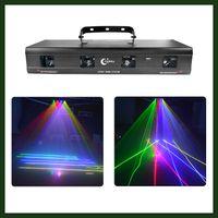 beam laser bar - Super Bright mw RGBY Lens Beam Laser Stage Lighting for Professional DJ Party Club Studio Bar