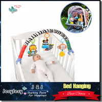 beds for baby - Sozzy Cute Lolvely Animal Shape Baby Toys Crib Gifts For Newborn Baby Travel Arch Bed Hanging Mobility Rattle Toys
