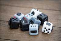 Wholesale Cube World Toys - DHL Fidget Cube toys Games For Adult World American Desk Toys Children Christmas Gifts to Relieve Anxiety And Pressure Decompression Toys
