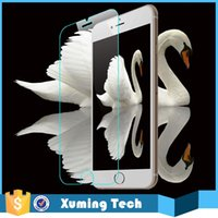 Wholesale 9H mm mobile phone tempered glass screen protector Shatterproof Anti Scratch HD Clear for iphone plus