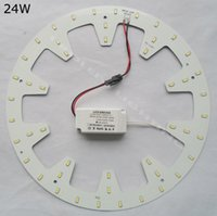 al por mayor kit de luces abajo-Reemplace el tubo fluorescente 50W DIY ronda 24W LED Down luz kits panel PCB led disco techo 2D tubo circular 120V 220V 230V 240V