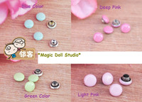 Wholesale 100pcs mm Rivet fit for DIY doll clothes accessories doll clothes buttons DIY Mini Metal Rivet for sale