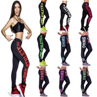 Wholesale Women Sport Pants Long Running Pants Jogging Work Out Clohtings Ladies Leggings Cotton Blend Drop Shipping