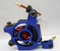 Wholesale Pro Casting Iron Tattoo Machine Wraps coil stainless steel Tattoos Body Art Gun Coil Machine LPC ITM C