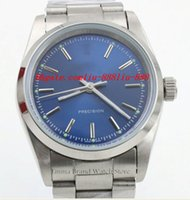 airs fashion watches - Luxury Watches Mens Brand Blue Dial Automatic Watch Mens Classic Air Fashion King Wist watch Relogio Masculin