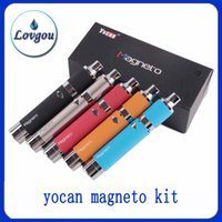 Single battery connections - clone Yocan Magneto Wax Pen Kits E Cigarette Kits With Magneto Connection Dab Tool mAh Battery vs Yocan Evolve Plus Yocan Hive