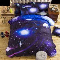 Wholesale SALE d bedding set Home Textiles nebula Star Quilt cover pillowcase designer bedding sets bed sheets comforter sets