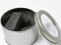 beautiful logos - Beautiful Metal Tinplate Box transparency window gift metal Watch box Round box Gift No LOGO