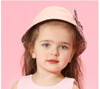 Wholesale 2016 New Baby Girls Floral Sun Hat Fashion Sun Hat Package Mail