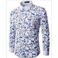 beautiful bumps - The autumn of the new men s bump color shirt men leisure broken beautiful design high quality long sleeve shirts