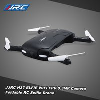 Wholesale Original JJRC H37 Axis Gyro ELFIE WIFI FPV P HD Camera RC Quadcopter Foldable G sensor Mini RC Selfie Drone RM7429