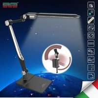 Wholesale Clip e base LED di Memoria function10W LED Lampade Da Scrivania tavolo ufficio studente lampada da lettura lampade luci di moda Angolo di ro
