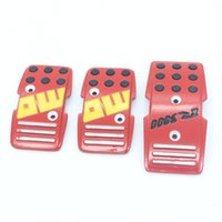 auto transmission covers - Car Aluminum Non Slip Universal Manual Transmission Car Pedals Pad Auto Vehicle Accelerator Pedal Clutch Cover car styling