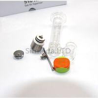 Ongles en verre dabs Prix-510 clou RIG ecigar tube de cire 510 verre vaporisateur d'ongle tuyau d'eau 510 fil dab frappé boîte vaporisateur mod livraison gratuite