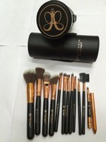 beauty products foundation - Anastasia makeup brush leather barrels set foundation makeup brush set online beauty products