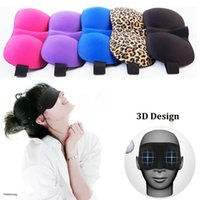 Wholesale Korean Portable D Sleep Mask Multicolor Shading Sleeping Eye Masks Relaxation Blindfold Sleep Aid Travel Rest Eyemask drop shipping ZA1489