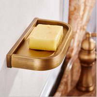 bathroom soap dispenser brass - Wall Mounted Solid Brass Copper Soap Dish soap tray bathroom soap dispensers