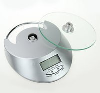 Wholesale Cooking Tool Electronic Weight Scale Food Balance Cuisine Precision Kitchen Scales kg g with glass face