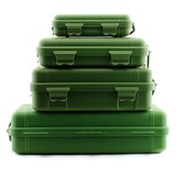 Wholesale High quality Outdoor Shockproof Waterproof Airtight Survival Storage Case Container Carry Box Flashlight storage box EDC Tool