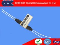 Wholesale CORERAY x2 optical switch x2 Fiber optical switch with Low Insertion Loss Wide Wavelength Range Latching and Non latching